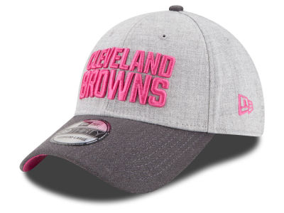 Cleveland Browns New Era NFL 2015 Breast Cancer Awareness 39THIRTY Cap