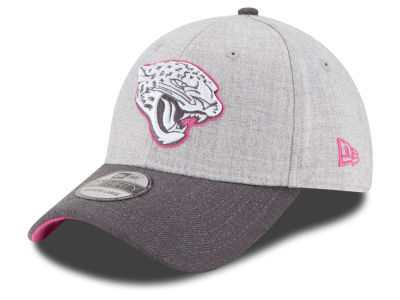 Jacksonville Jaguars New Era NFL 2015 Breast Cancer Awareness 39THIRTY Cap