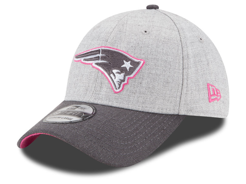 1497c2c27a8 New England Patriots New Era NFL 2015 Breast Cancer Awareness 39THIRTY Cap