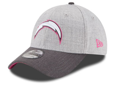 San Diego Chargers New Era NFL 2015 Breast Cancer Awareness 39THIRTY Cap