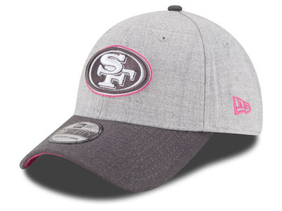 San Francisco 49ers New Era NFL 2015 Breast Cancer Awareness 39THIRTY Cap