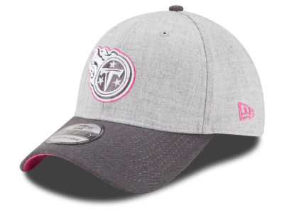 Tennessee Titans New Era NFL 2015 Breast Cancer Awareness 39THIRTY Cap