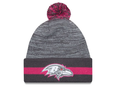 Baltimore Ravens New Era NFL 2015 Breast Cancer Awareness Sport Knit