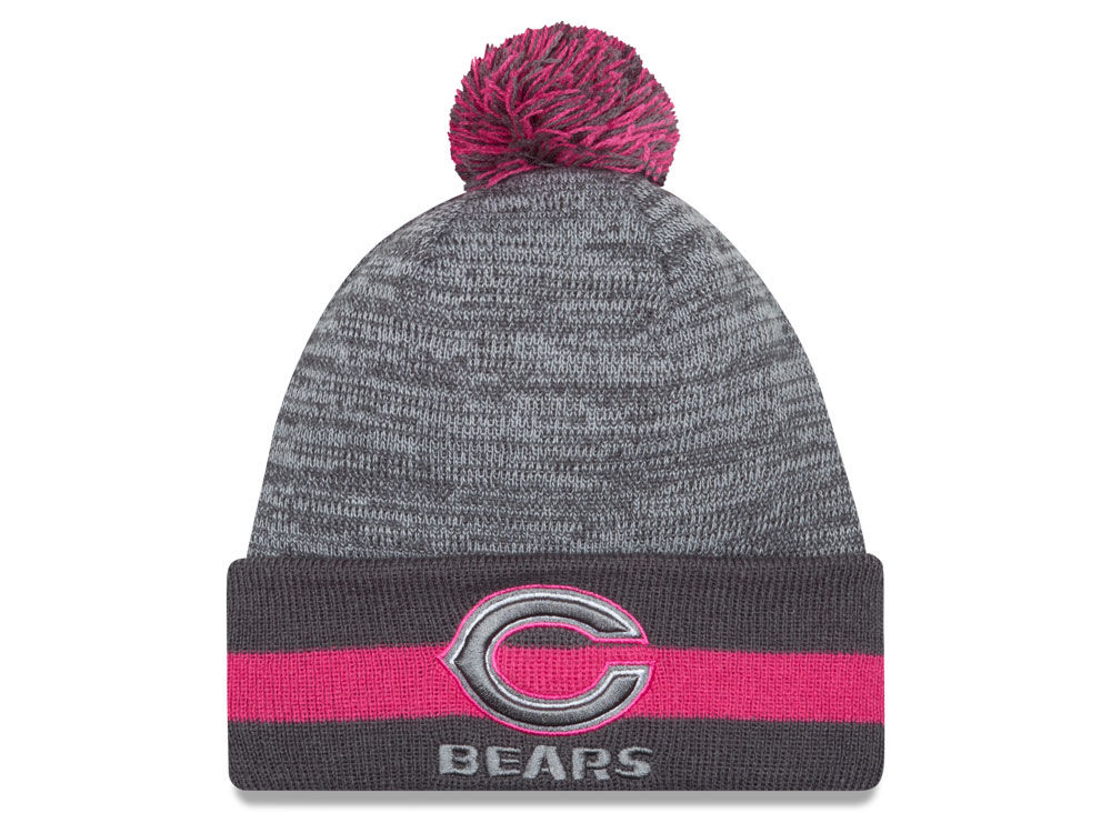 4d540fbffd10e Chicago Bears New Era NFL 2015 Breast Cancer Awareness Sport Knit ...