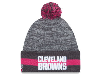Cleveland Browns New Era NFL 2015 Breast Cancer Awareness Sport Knit
