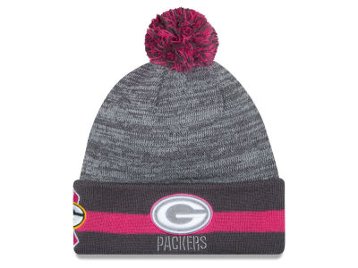 Green Bay Packers New Era NFL 2015 Breast Cancer Awareness Sport Knit