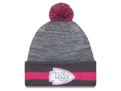 Kansas City Chiefs New Era NFL 2015 Breast Cancer Awareness Sport Knit