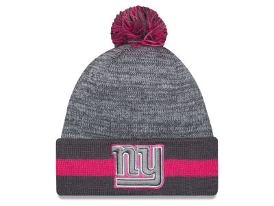 New York Giants New Era NFL 2015 Breast Cancer Awareness Sport Knit