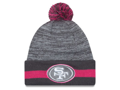 San Francisco 49ers New Era NFL 2015 Breast Cancer Awareness Sport Knit