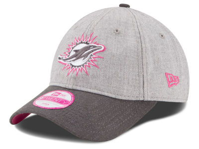 Miami Dolphins New Era NFL 2015 Women's Breast Cancer Awareness 9TWENTY Cap