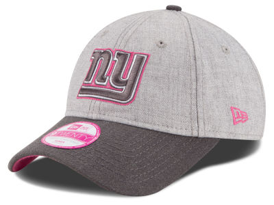 New York Giants New Era NFL 2015 Women's Breast Cancer Awareness 9TWENTY Cap