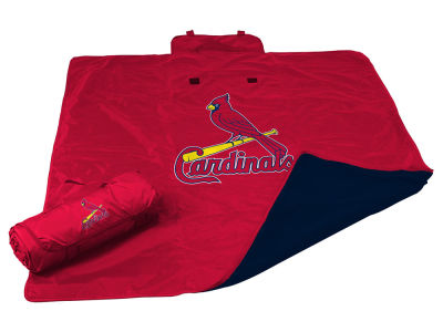 St. Louis Cardinals Logo Brands All Weather Blanket