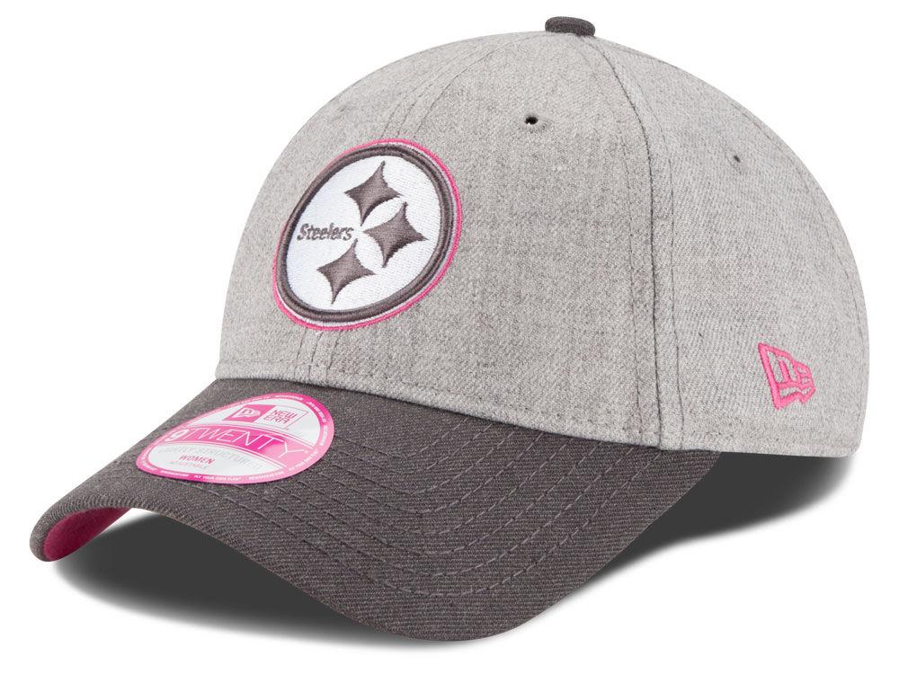 984d07fd2 Pittsburgh Steelers New Era NFL 2015 Women s Breast Cancer Awareness  9TWENTY Cap