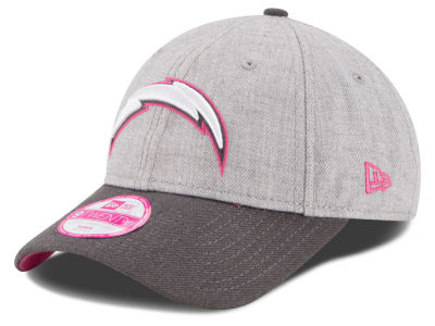 San Diego Chargers New Era NFL 2015 Women's Breast Cancer Awareness 9TWENTY Cap