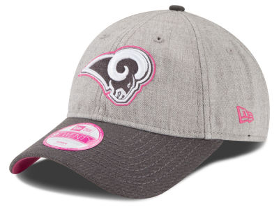 Los Angeles Rams New Era NFL 2015 Women's Breast Cancer Awareness 9TWENTY Cap