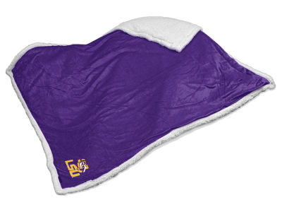 LSU Tigers Logo Brands Sherpa Blanket