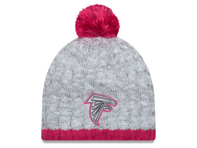 Atlanta Falcons New Era NFL 2015 Women's Breast Cancer Awareness Knit