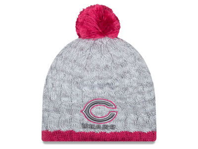 Chicago Bears New Era NFL 2015 Women's Breast Cancer Awareness Knit