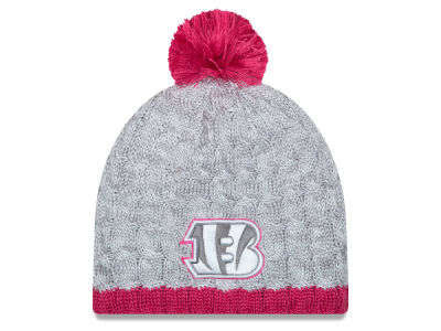 Cincinnati Bengals New Era NFL 2015 Women's Breast Cancer Awareness Knit