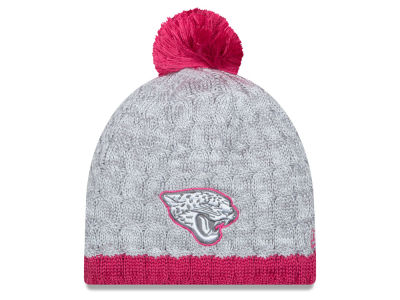 Jacksonville Jaguars New Era NFL 2015 Women's Breast Cancer Awareness Knit