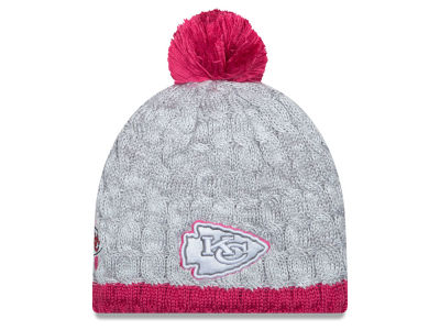 Kansas City Chiefs New Era NFL 2015 Women's Breast Cancer Awareness Knit