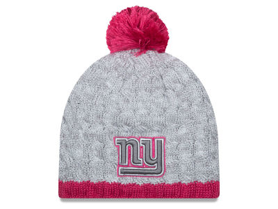 New York Giants New Era NFL 2015 Women's Breast Cancer Awareness Knit