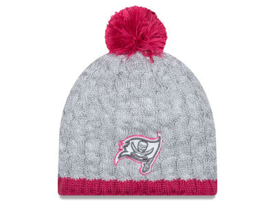 Tampa Bay Buccaneers New Era NFL 2015 Women's Breast Cancer Awareness Knit