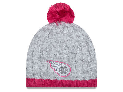 Tennessee Titans New Era NFL 2015 Women's Breast Cancer Awareness Knit
