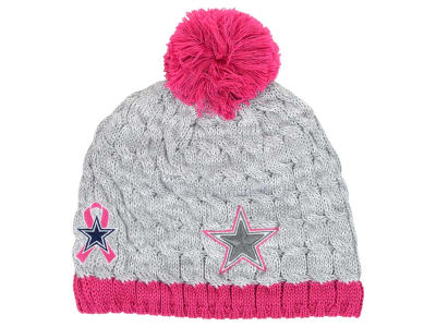 Dallas Cowboys New Era NFL 2015 Women's Breast Cancer Awareness Knit