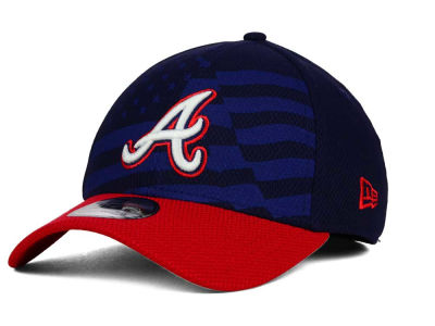 Atlanta Braves New Era MLB 2015 Stars & Stripes 39THIRTY Cap