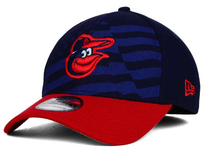 Baltimore Orioles New Era MLB 2015 Stars & Stripes 39THIRTY Cap