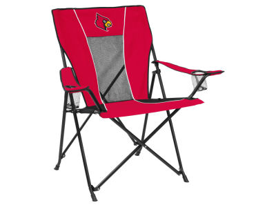 Louisville Cardinals Logo Brands Game Time Chair