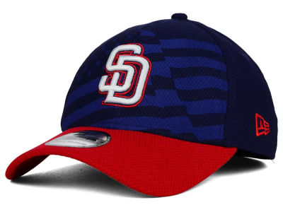 San Diego Padres New Era MLB 2015 Stars & Stripes 39THIRTY Cap