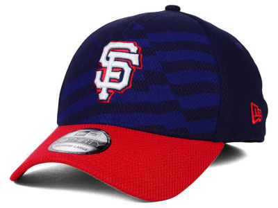 San Francisco Giants New Era MLB 2015 Stars & Stripes 39THIRTY Cap
