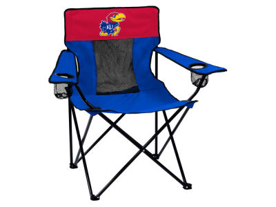 Kansas Jayhawks Logo Brands Elite Chair