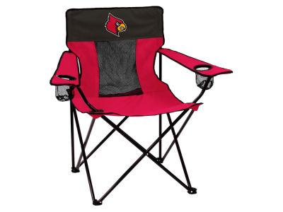 Louisville Cardinals Logo Brands Elite Chair
