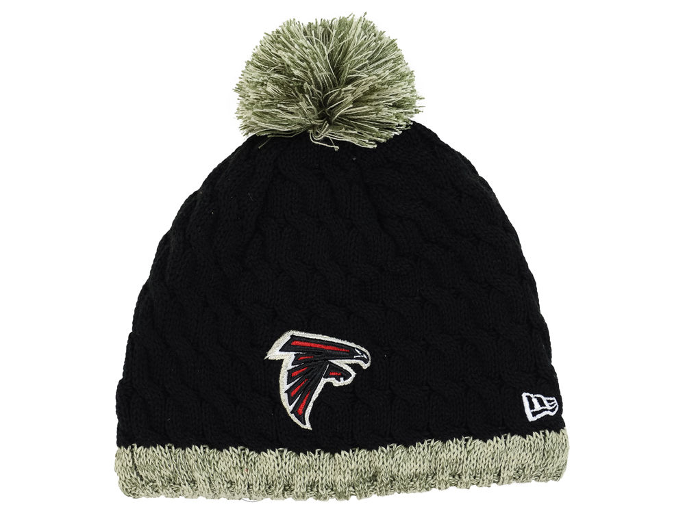 7f6c185ec Atlanta Falcons New Era NFL 2015 Women s Salute to Service Knit ...
