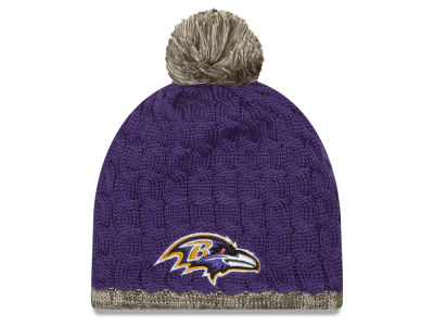 Baltimore Ravens New Era NFL 2015 Women's Salute to Service Knit