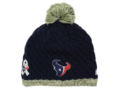 Houston Texans New Era NFL 2015 Women's Salute to Service Knit
