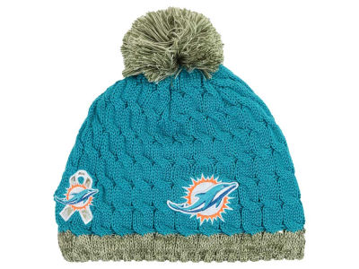 Miami Dolphins New Era NFL 2015 Women's Salute to Service Knit