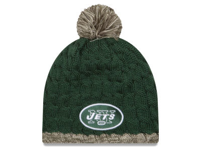New York Jets New Era NFL 2015 Women's Salute to Service Knit