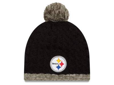 Pittsburgh Steelers New Era NFL 2015 Women's Salute to Service Knit