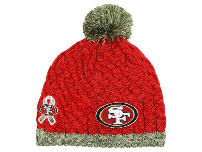 San Francisco 49ers New Era NFL 2015 Women's Salute to Service Knit