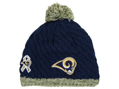 St. Louis Rams New Era NFL 2015 Women's Salute to Service Knit