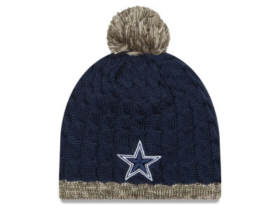 Dallas Cowboys New Era NFL 2015 Women's Salute to Service Knit