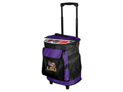 LSU Tigers Logo Brands Rolling Cooler