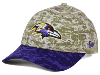 Baltimore Ravens New Era NFL 2015 Women's Salute to Service 9TWENTY Cap
