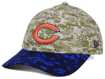 Chicago Bears New Era NFL 2015 Women's Salute to Service 9TWENTY Cap