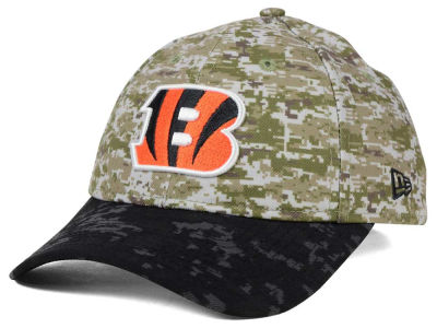 Cincinnati Bengals New Era NFL 2015 Women's Salute to Service 9TWENTY Cap