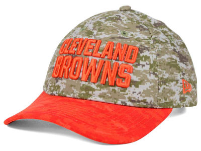 Cleveland Browns New Era NFL 2015 Women's Salute to Service 9TWENTY Cap